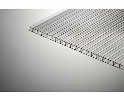 Сотовый поликарбонат  Колибри 8*2100*6000 прозрачный