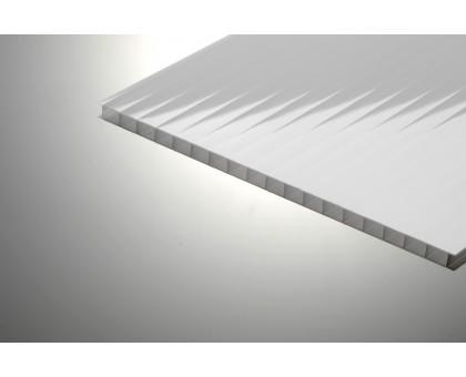 Сотовый поликарбонат Колибри 8*2100*6000 серый 20%