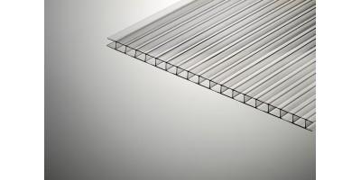 Сотовый поликарбонат  Колибри 10*2100*12000 прозрачный